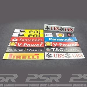 Team Slot Scenic Stickers Europa 1