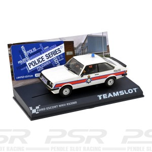 Team Slot Ford Escort MKII RS2000 Police Car 01