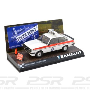 Team Slot Ford Escort MKII RS2000 Police Car 02