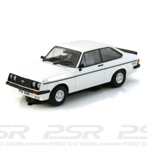 Team Slot Ford Escort MKII RS2000 White Road Car