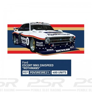 Team Slot Ford Escort MKII Zakspeed Rothmans