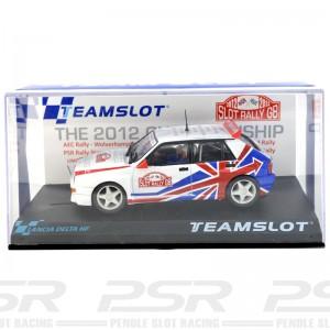 Team Slot Lancia Delta Slot Rally GB 2012