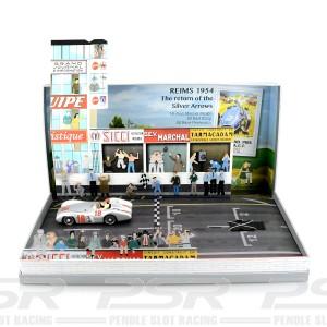 Top Slot Mercedes-Benz 196S GP Reims 1954 Special Box