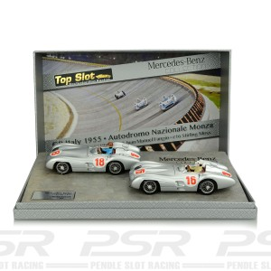 Top Slot Mercedes-Benz W196R GP Italy 1955 Twin Pack