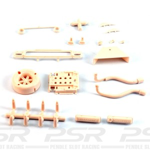 Thunder Slot Lola T70 MkIII Engine & Exhaust Kit