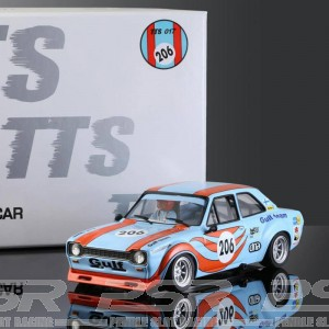 BRM Ford Escort Mk1 Gulf No.206 - 1/24th Scale