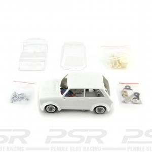 TTS 1/24 Autobianchi A112 White Kit Complete