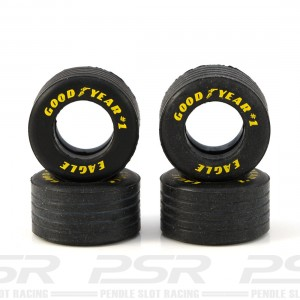 Scalextric Tyres Rear Goodyear 1990s F1