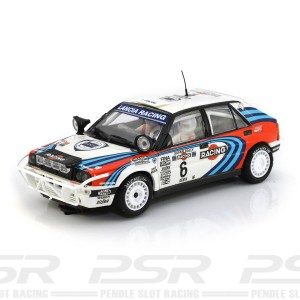SCX Lancia Delta Integrale No.6 Safari Rally 1991