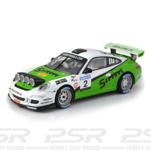SCX Porsche 911 GT3 Rally No.2 Simm