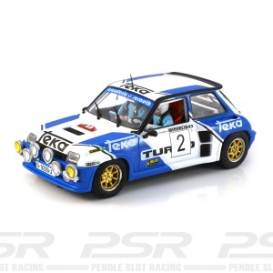 Slotwings Renault 5 Turbo No.2 Rally de Torrelavega 1983