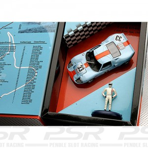 Fly Ford GT40 No.33 1000km Spa 1968 Signed W07-96039