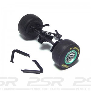 Scalextric Front Axle Assembly Mercedes GP Petronas