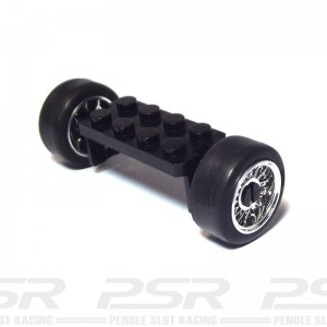 Scalextric Front Axle Assembly Hotrod