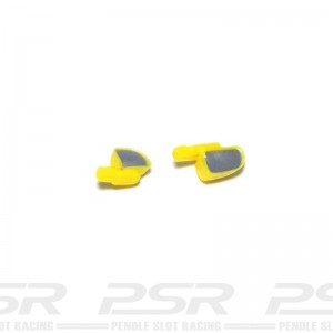Scalextric Wing Mirrors Yellow VW Beetle