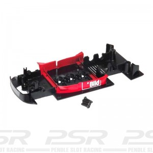 Scalextric Underpan Opel V8 Coupe Red