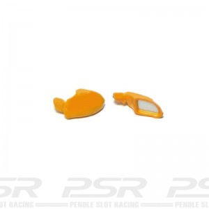 Scalextric Wing Mirrors Type 16 Yellow Porsche 911 GT3