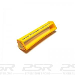Scalextric Subaru Impreza Yellow Rear Wing