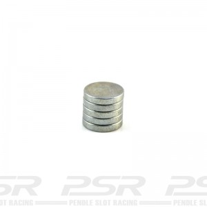 Scalextric Round Magnet 1.5mm Pack x5