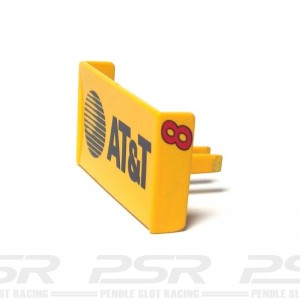 Scalextric Dallara Indy Car Rear Wing Yellow