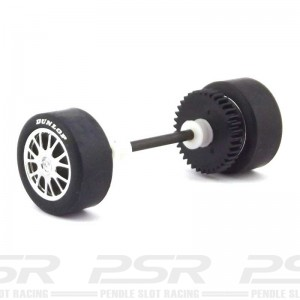 Scalextric Rear Axle Assembly Opel Astra