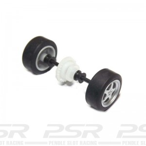 Scalextric Rear Axle Assembly Porsche Boxster