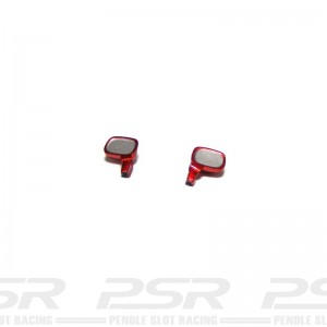 Scalextric Wing Mirrors Red TVR T400R