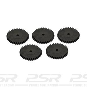 Scalextric 4WD Sidewinder Spur Gear 36t x5