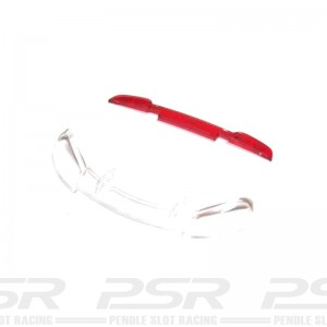 Scalextric Light Lens Front & Rear Dodge Viper