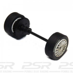 Scalextric Front Axle Assembly Peugeot 307 Weathered