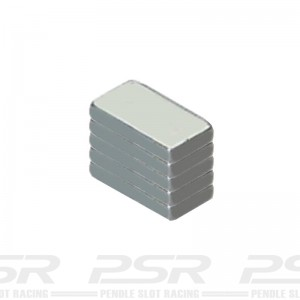 Scalextric Bar Magnets 14mm x 8mm 5x