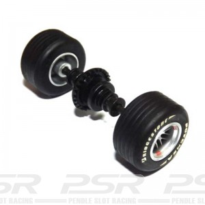 Scalextric Rear Axle Assembly Ferrari F1 2005