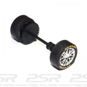Scalextric Rear Axle Assembly Opel Vectra DTM