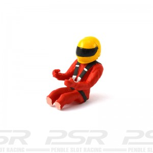 Scalextric F1 Driver Red/Yellow