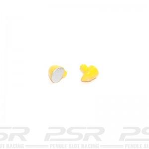Scalextric Wing Mirrors Yellow Ferrari 330 P4