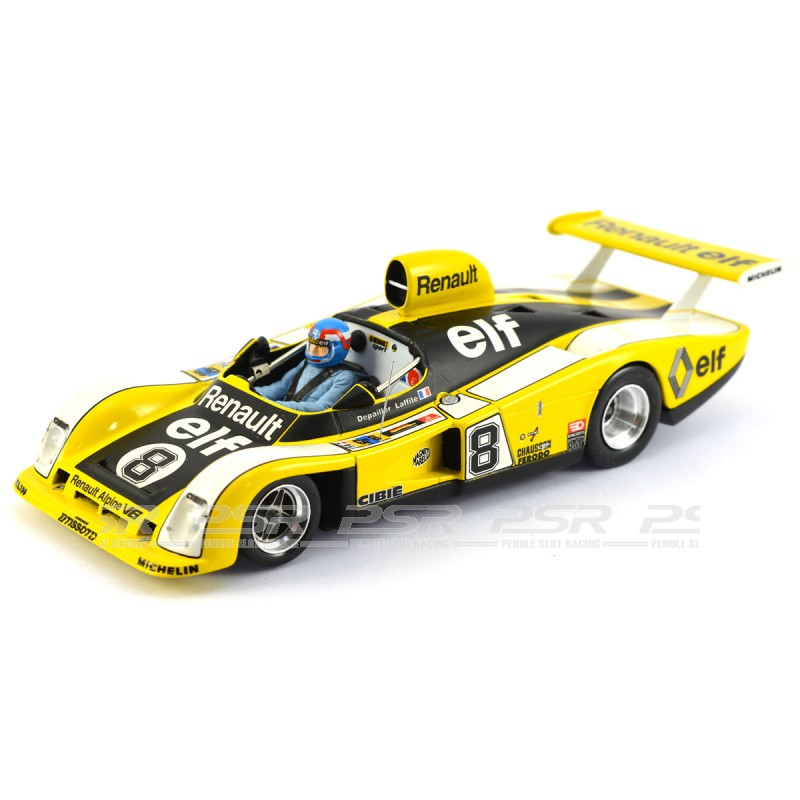 le mans miniatures renault alpine a442 no 8 le mans 1977 132077 8m. Black Bedroom Furniture Sets. Home Design Ideas