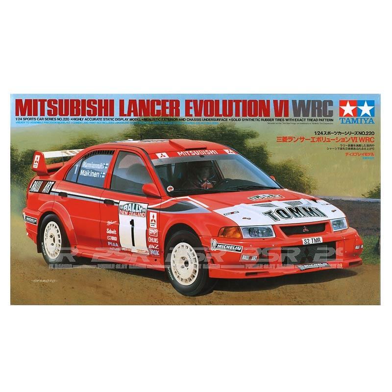 Tamiya Mitsubishi Lancer Evolution VI WRC Kit (24220)