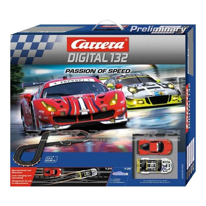 carrera digital 132  Carrera Digital 132 Passion of Speed Set (30195)