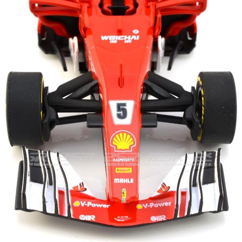 """No.5/"""" Carrera Evolution 27575 Ferrari SF70H /""""S.Vettel"""