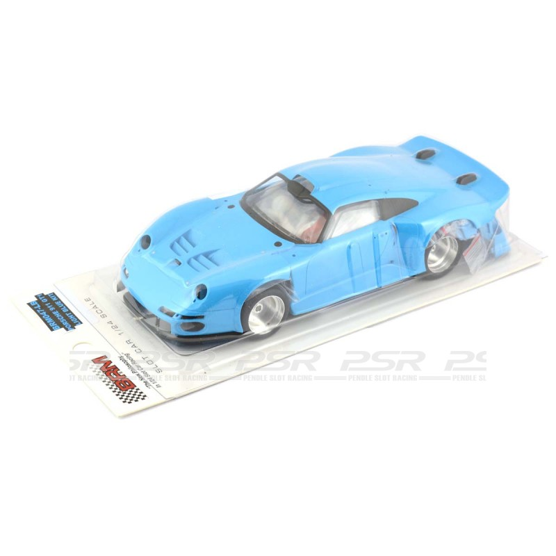 brm porsche 911 gt1 kit blue 1 24th scale brm 047lb. Black Bedroom Furniture Sets. Home Design Ideas