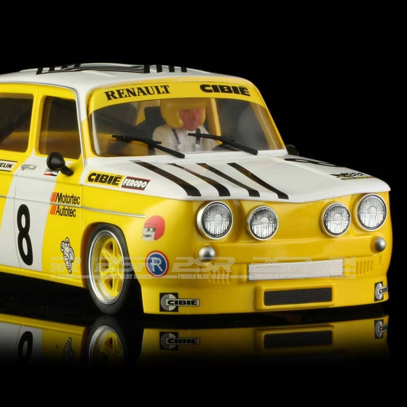 brm renault r8 gordini yellow renault no 8 edition 1 24th scale brm 080. Black Bedroom Furniture Sets. Home Design Ideas