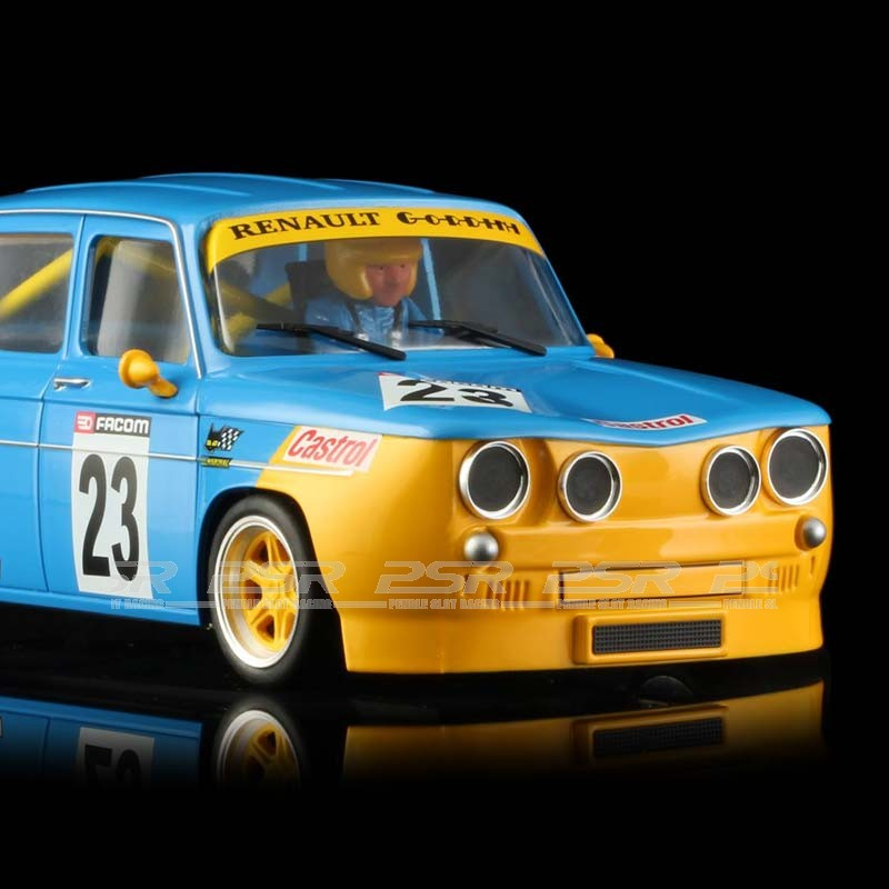 brm renault r8 gordini yellow blue renault edition 1 24th scale brm 082. Black Bedroom Furniture Sets. Home Design Ideas