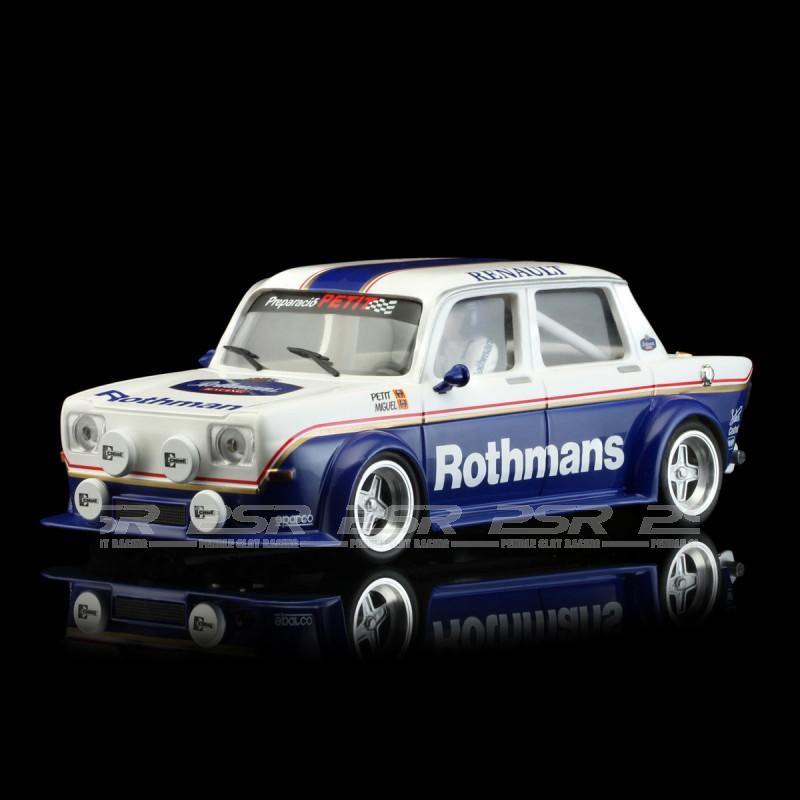 BRM102 1//24 Slotcar SIMCA 1000 ccm Renault ROTHMANS edition