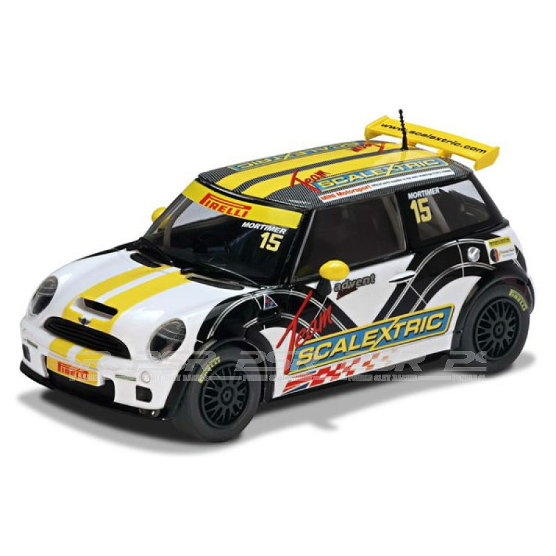 Scalextric C3400 Bmw Mini Cooper S Team Scalextric No 15 Mini