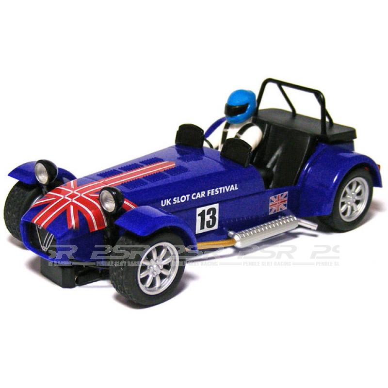 Scalextric C3437 Caterham 7 UK Slot Car Festival 2013