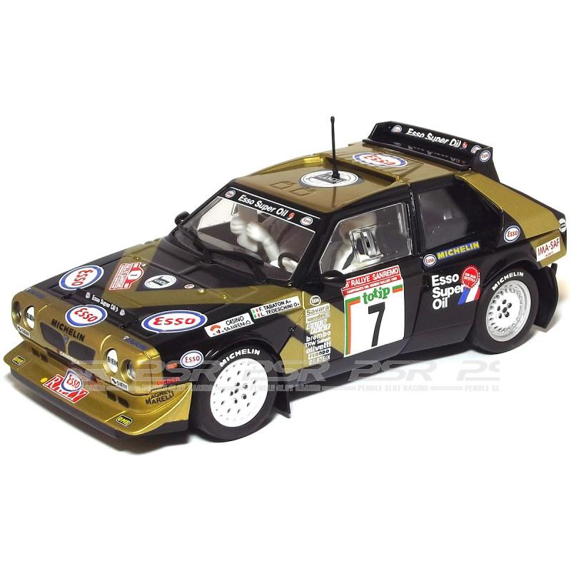 scalextric c3490 lancia delta s4 no.7 rally san remo 1986