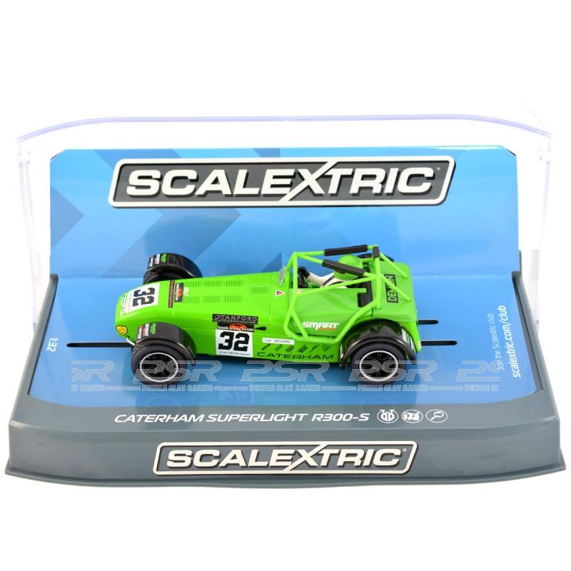 Caterham Super 7 Specs: Scalextric Caterham Superlight R300-S Championship Lee