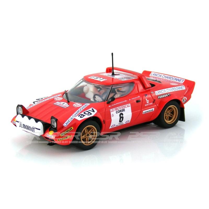 scalextric lancia stratos tour de course rally winner 1975 (c3930)