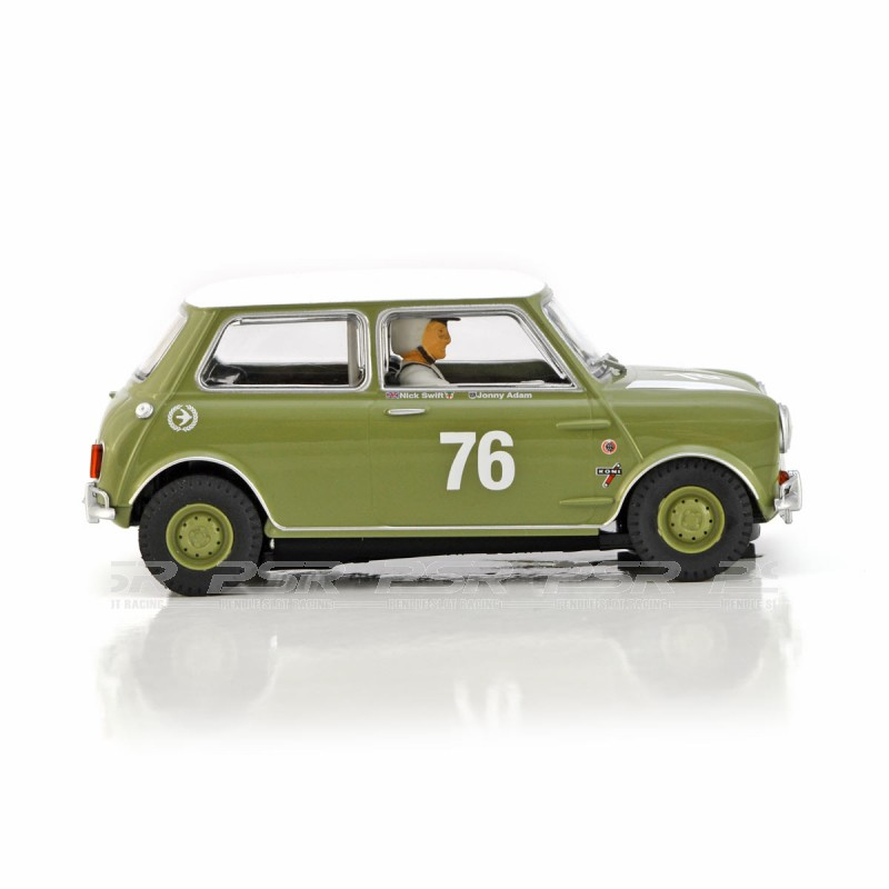 Scalextric Austin Mini Cooper S Goodwood 2018 1:32 Slot Race Car C4059