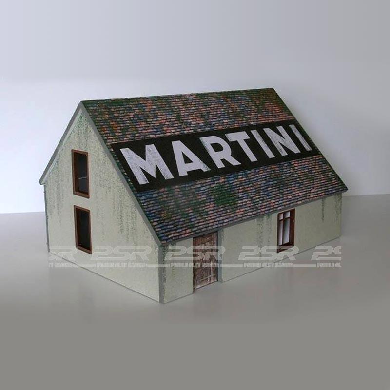 gp miniatures maison blanche building. Black Bedroom Furniture Sets. Home Design Ideas